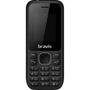 BRAVIS C183 RIFE DUAL SIM BLACK (Код товара:9054)