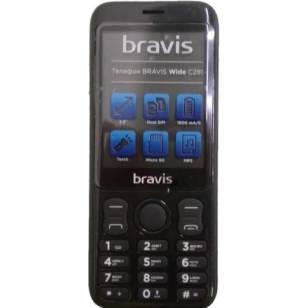 BRAVIS C281 WIDE DUAL SIM BLACK (Код товара:9053)