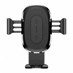 Автомобильный держатель BASEUS Qi Wireless Mount Black (Код товара:9273)