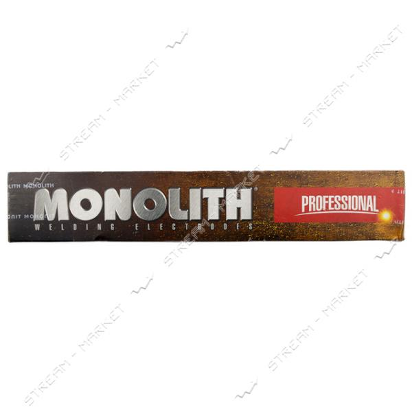 Электроды Монолит Профессионал Е-50 4мм 5 кг