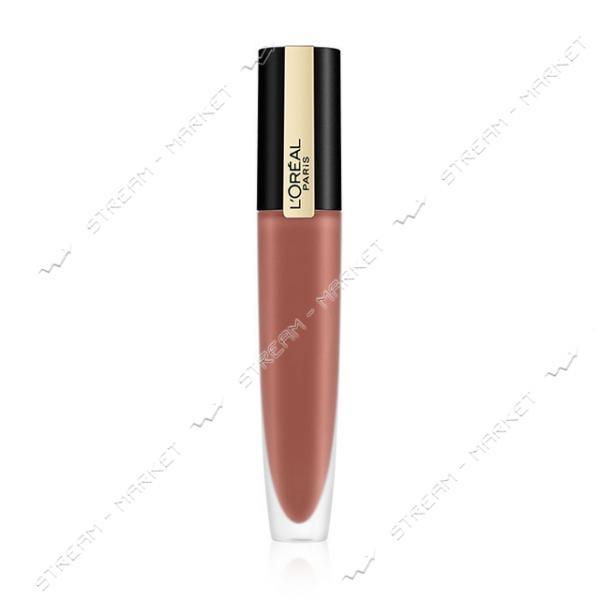 """Помада-тинт для губ L""""Oreal Paris Rouge Signature 116 Светло-коричневый 7мл"""