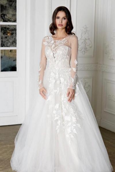 Эксклюзивное свадебное платье Лина