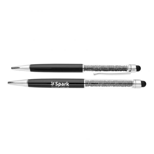 Ручка SPARK Black Ballpen со Swarovski модели BALLPEN BLACK