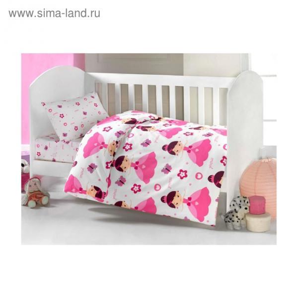 Комплект в кроватку «Принцесса», 6 предметов