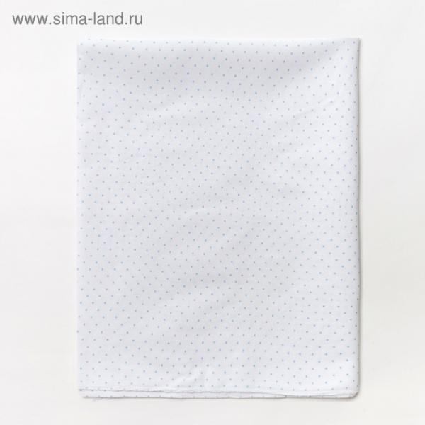 Пеленка бязь размер 90х130 см, цвет микс, х/б 100, 120гм, 12404