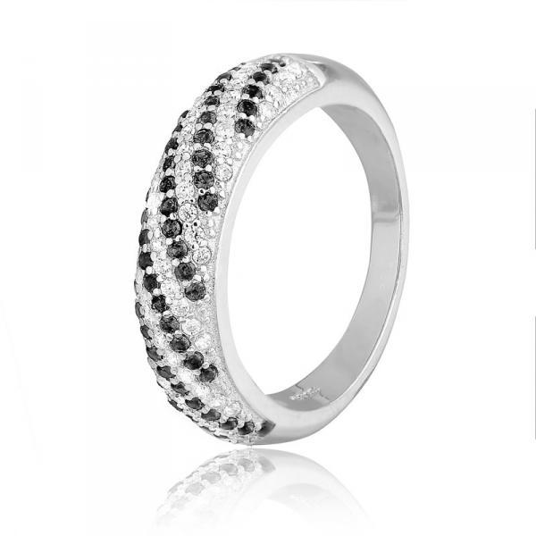 Серебряное кольцо Silvex925 с фианитом 18.1 мм модели К2ФО/803-К