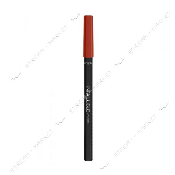 "Карандаш для губ L""Oreal Infaillible Lip Liner 711 Invisible Red 1г"