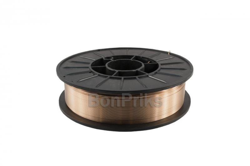 Проволока сварочная PlasmaTec - 1,0 мм х 4 кг, G3Si1