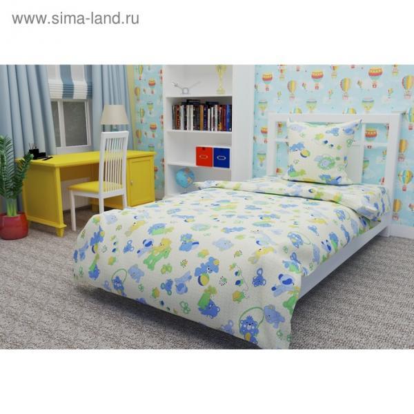 Детское постельное бельё 1,5 сп. «Игрушки»