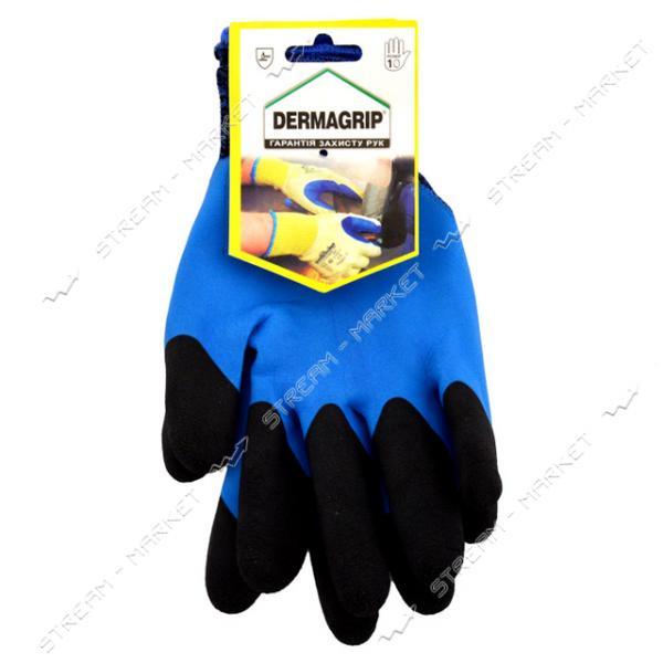 Перчатки 949 стрейч покрытый вспененной резиной желтый/черный