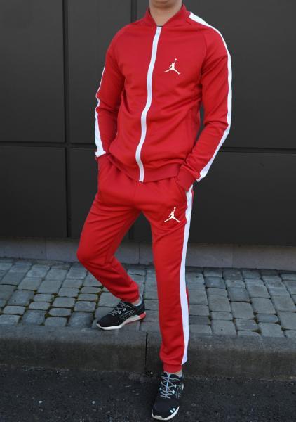 Спортивный костюм Jordan (Premium-class) красный