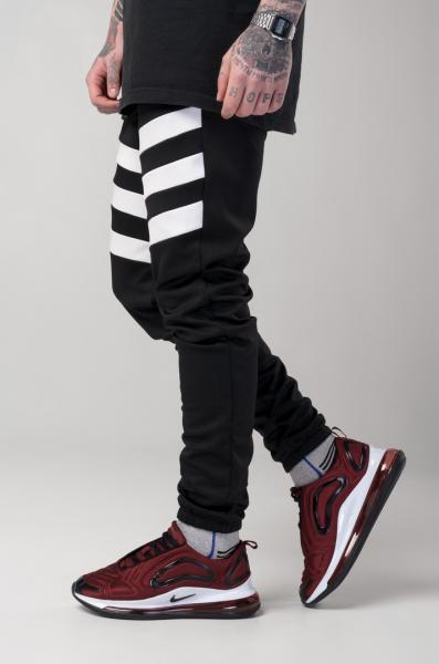 Мужские спортивные штаны Light Сloud - Flip черно-белые