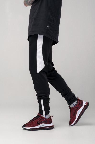 Мужские спортивные штаны Light Сloud - Jet (черно-белые)