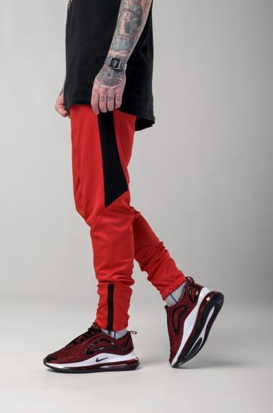 Мужские спортивные штаны Light Сloud - Jet (красно-черные)