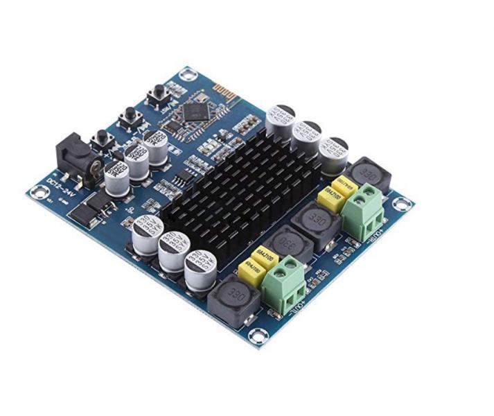 Усилитель TPA3116D2 Bluetooth DC 12 В-24 В 2 х 120 Вт стерео