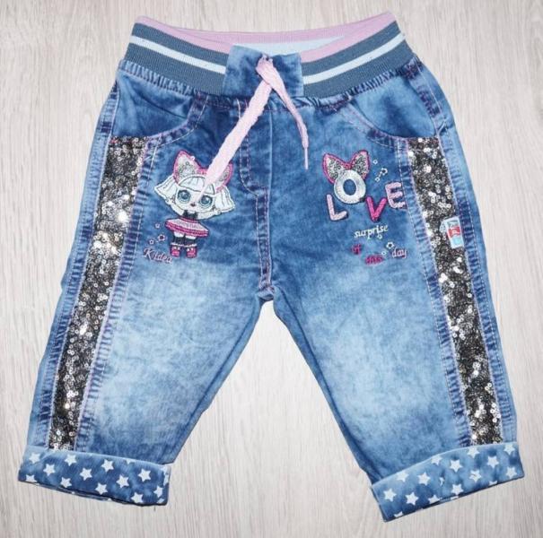Модные шортики с блестками и LOL 2-4 года