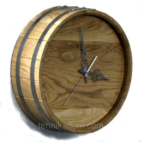 Часы настенные Seven Seasons™ Old barrel светлый дуб 33 см (HD-1901-1)