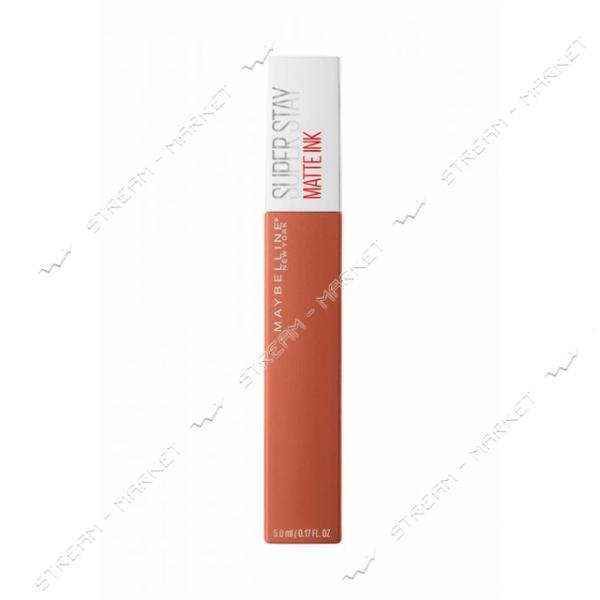 Жидкая помада для губ Maybelline New York Super Stay Matte Ink №65 5г