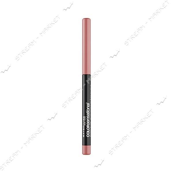 Карандаш для губ Maybelline New York Color Sensational Shaping Lipliner 50 Пыльная роза 2г