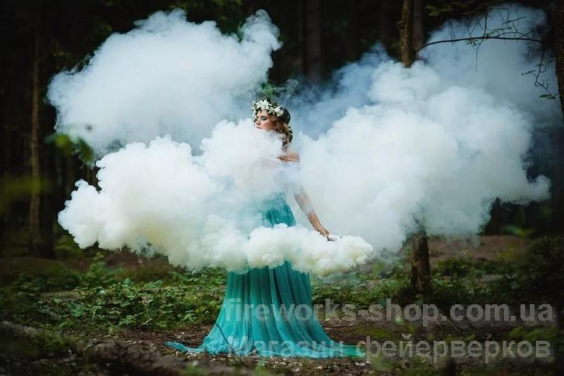 Фото Цветные дымы MA0509 дым белый
