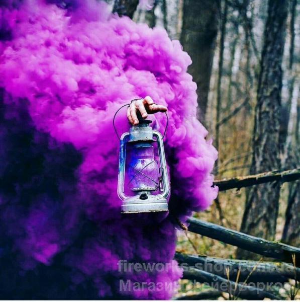 Фото Цветные дымы MA 0509 фиолетовый