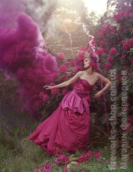 Фото Цветные дымы MA 0512 Дым марсала 100 секунд