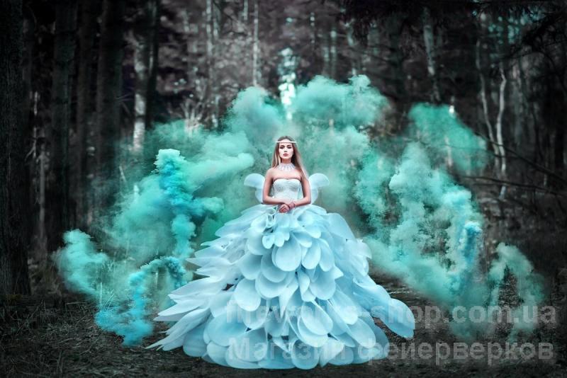 Фото Цветные дымы MA 0512 Дым лазурный 100 секунд