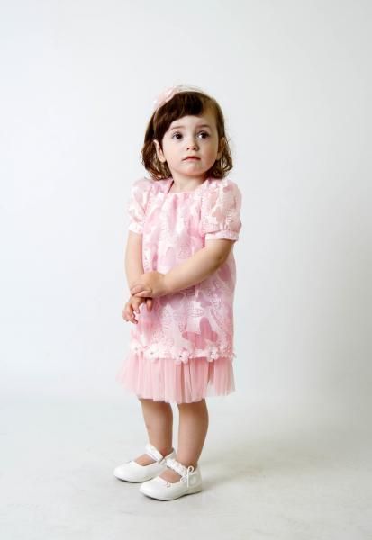 Плаття рожевий метелик ПЛ-2218 Мона