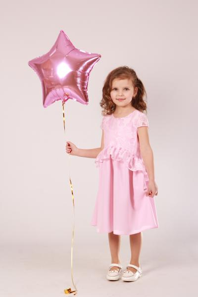 Плаття рожеве ПЛ-2018 Мона