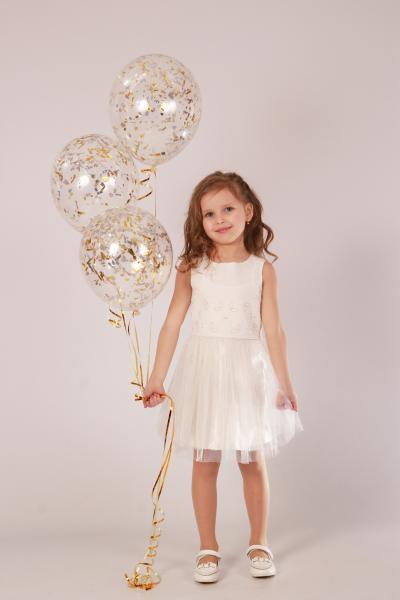 Плаття Біле ПЛ-2118 Мона