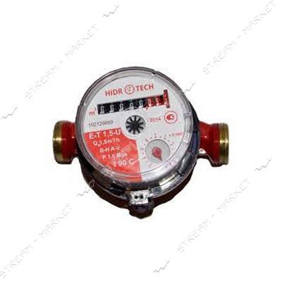 Счетчик для горячей воды 1/2' Гидротек E-T 1, 6-U