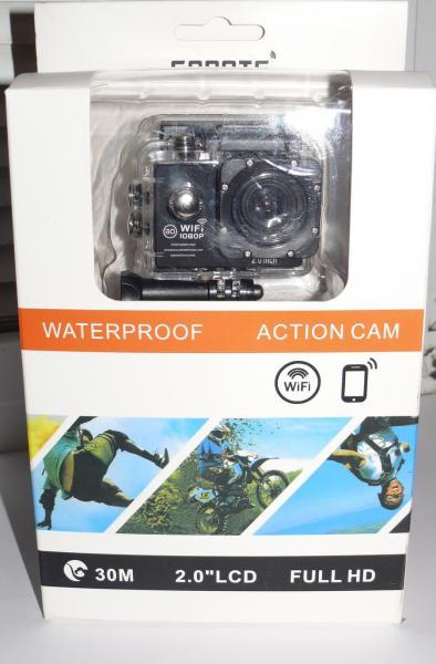 Видеокамера, экшен камера D205R с WiFi, с аквабоксом.