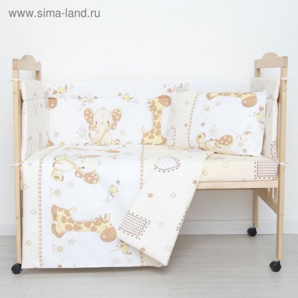 """Комплект в кроватку """"Африка"""" (6 предметов)"""