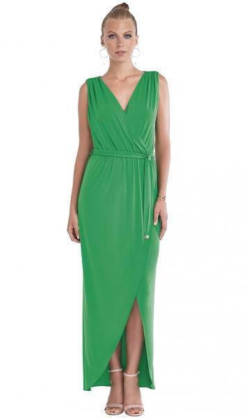 Длинное пляжное платье без рукавов Magistral XI 980 44(M) Зеленый Magistral  XI 980