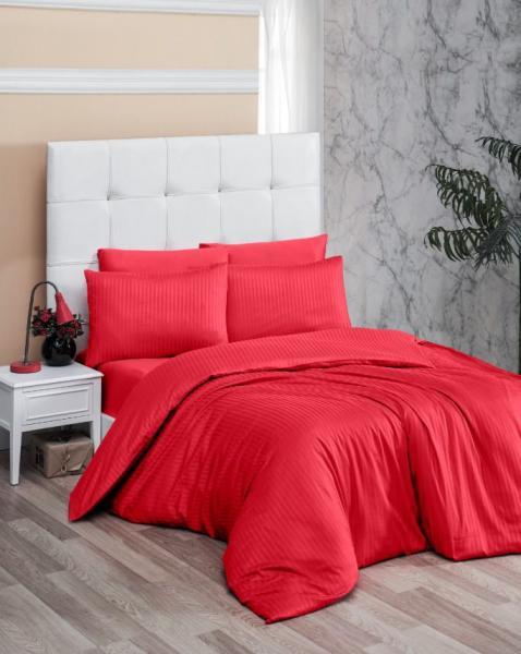 Постельное белье Premium Red (семейное)