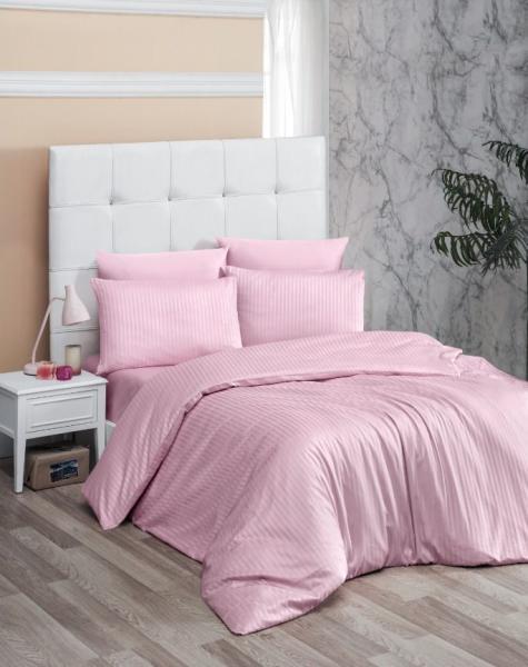 Постельное белье Premium Pink (семейное)