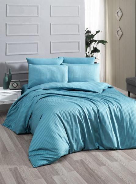 Постельное белье Premium Blue (семейное)
