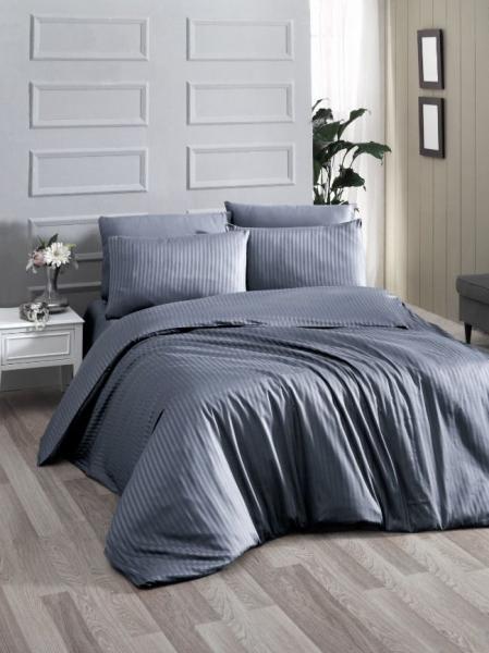 Постельное белье Premium Grey (семейное)
