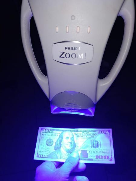 Лампа для отбеливания зубов Philips Zoom WhiteSpeed, ZOOM 4, Б/У