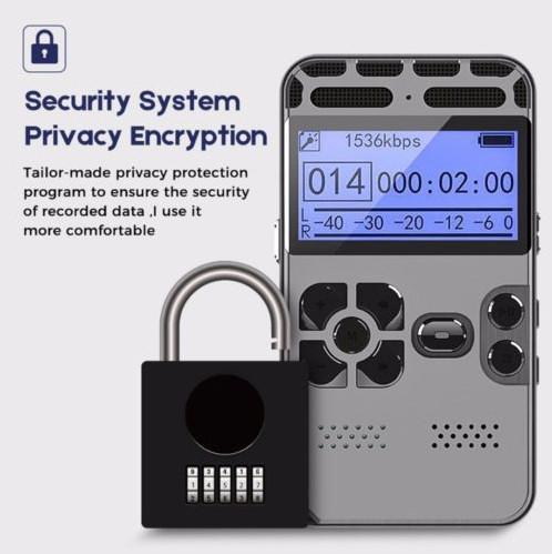 Диктофон профессиональный с активацией на звук Lyker