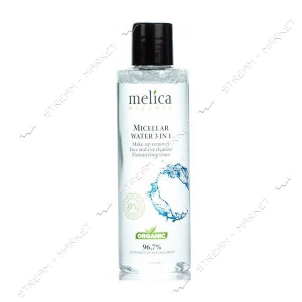 Мицелярная вода 3 в 1 Melica Organic 200 мл