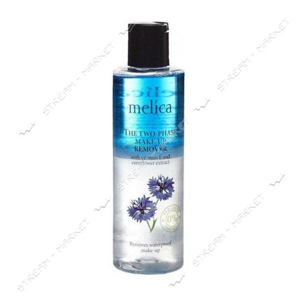 Средство для снятия макияжа с витамином Е с экстратком василька Melica Organic 200 мл