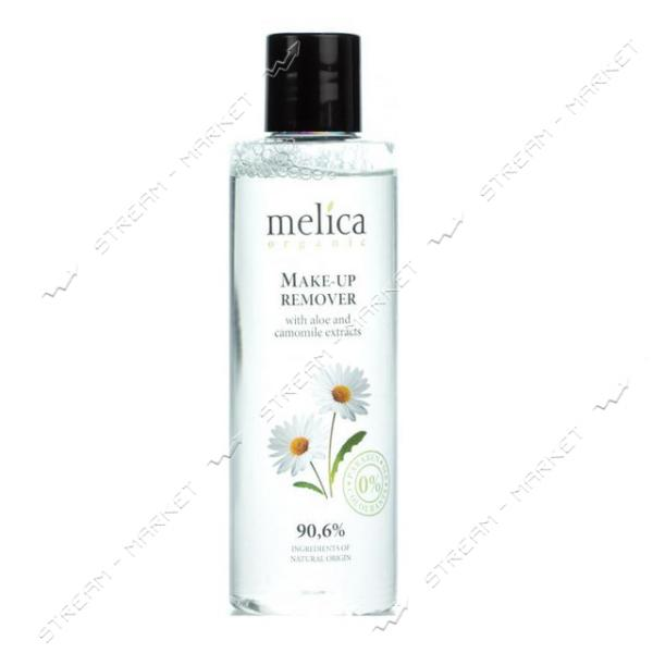 Средство для снятия макияжа с экстратком алое и ромашки Melica Organic 200 мл