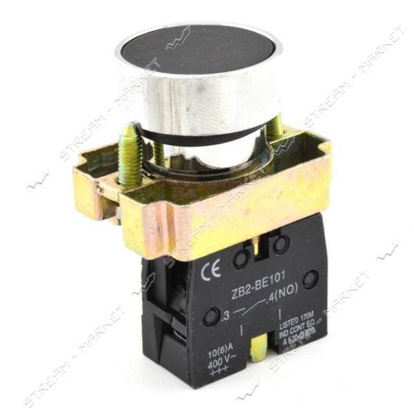 Кнопка управления XB2-BA21 нажимная без фиксации Старт черная