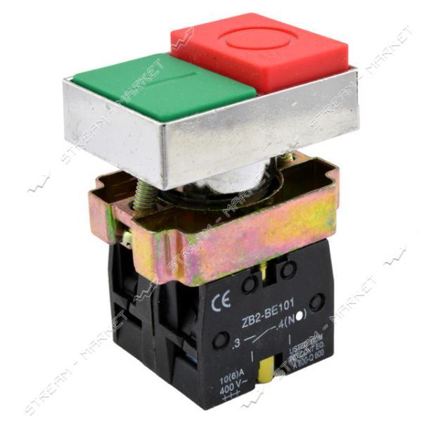 Кнопка управления XB2-BL8425 двойная старт/стоп без маркировки зеленая