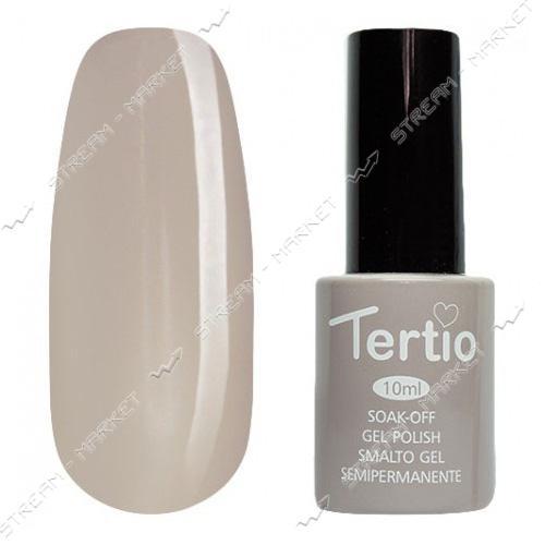 Гель-лак Tertio №034 Светлый коричнево-серый 10 мл