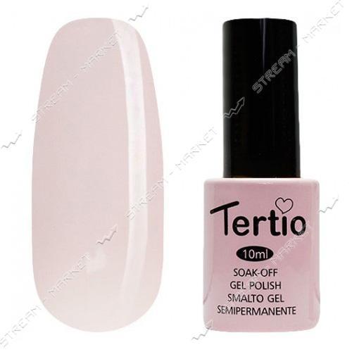 Гель-лак Tertio №145 Пастельный молочно-розовый 10 мл