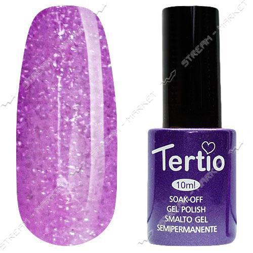Гель-лак Tertio №170 Фиолетово-сиреневый с микроблеском 10 мл
