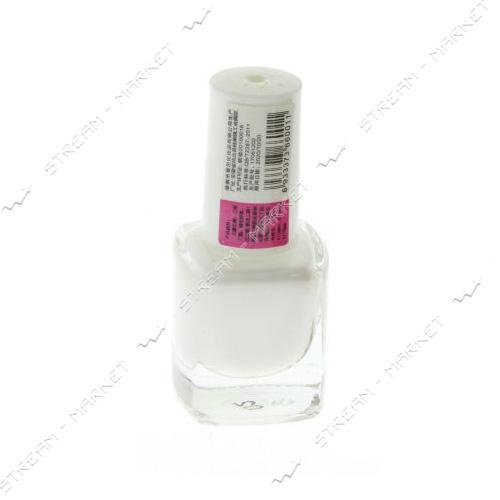 Краска для стемпинга Белая бутылочка с кистью 6 мл