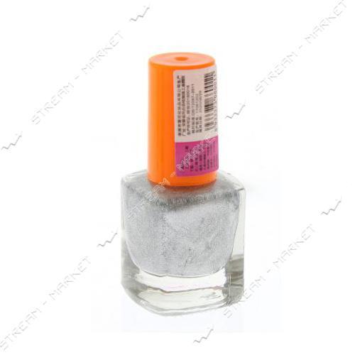 Краска для стемпинга Серебро бутылочка с кистью 6 мл